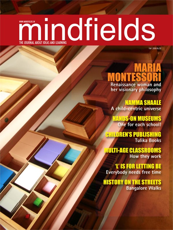 MIND FIELDS MAgazine, India (cover page)