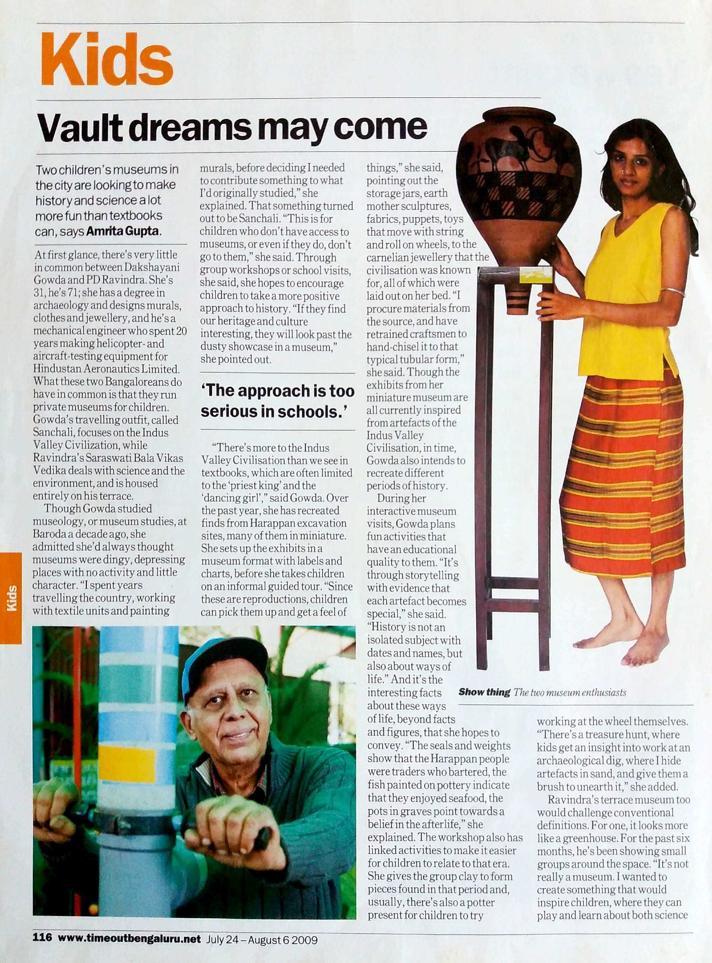 TIME OUT BENGALURU, 2009 (Page 1)