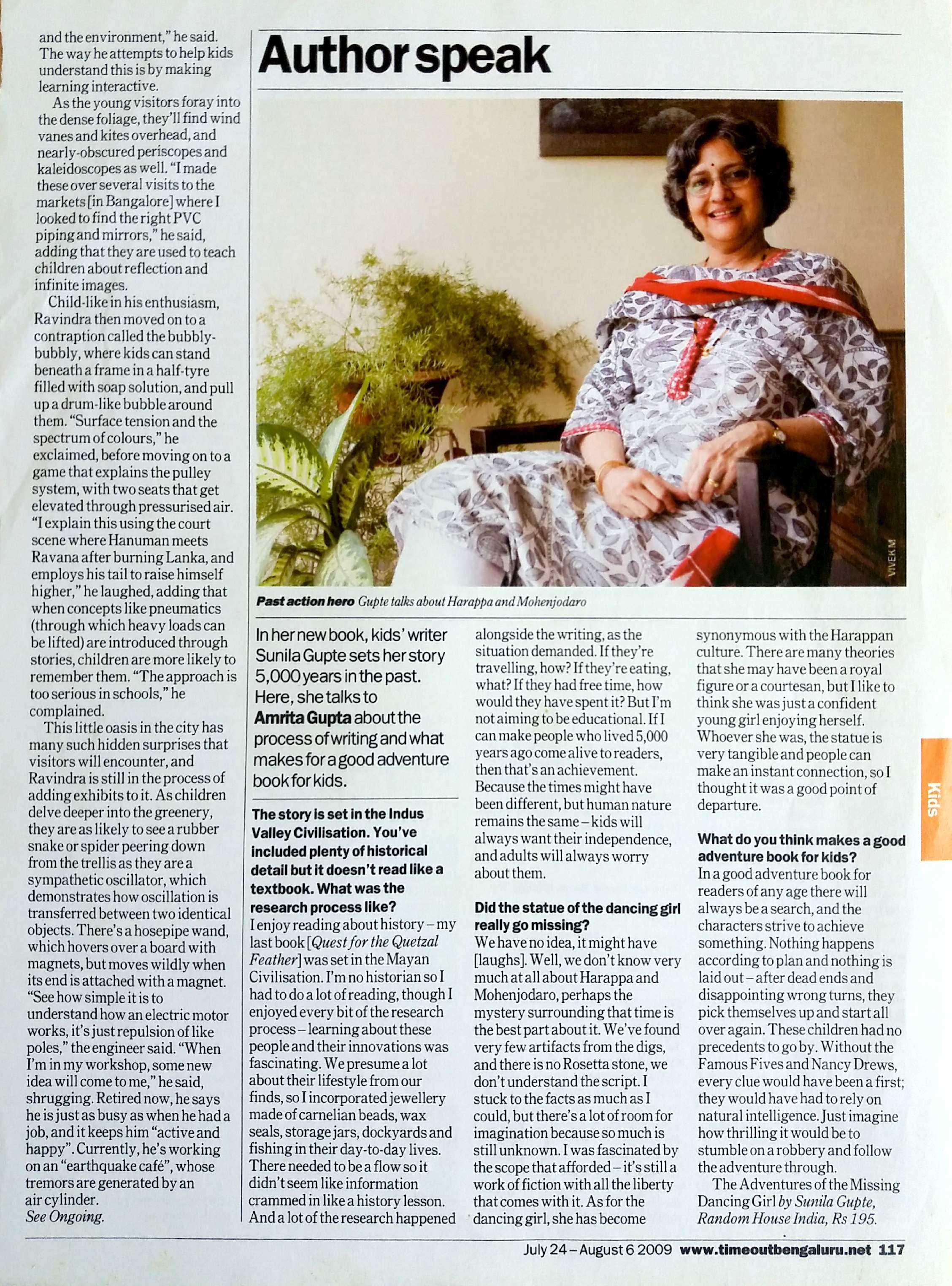 TIME OUT BENGALURU, 2009 (Page 2)